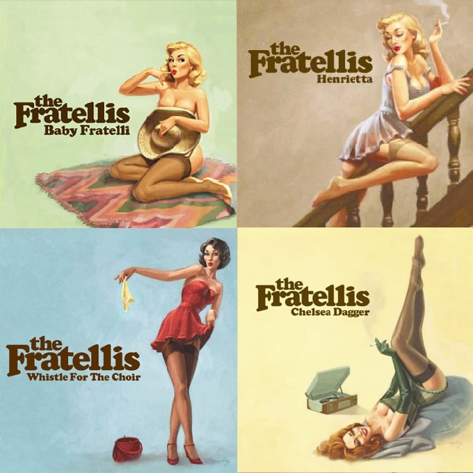 The Fratellis Singles covers