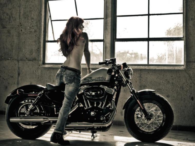 Sporster Harley Davidson Forty Eight!