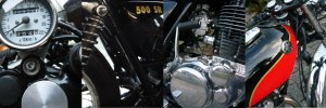 Préparation Yamaha 500 SR Cafe Racer!