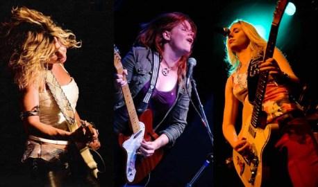 Ladies Blues: Ana Popovic, Carolyn Wonderland et Joanne Shaw Taylor