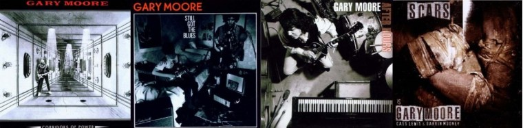 Discographie Gary Moore!