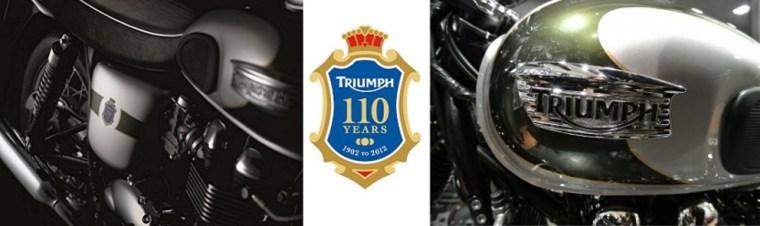 Triumph Bonneville 110th Anniversary