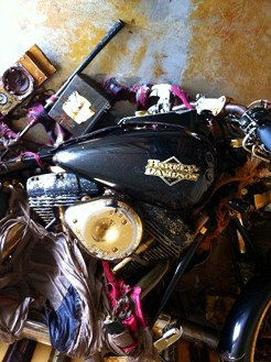 Harley Davidson Night Train option full Tsunami!