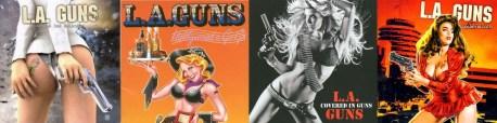 Jaquettes CD's L.A. Guns