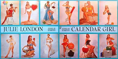 Julie London: Calendar Girl 1956