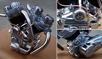 Musket 998 V Twin: Assemblage de 2 Monos 500 cc Royal Enfield