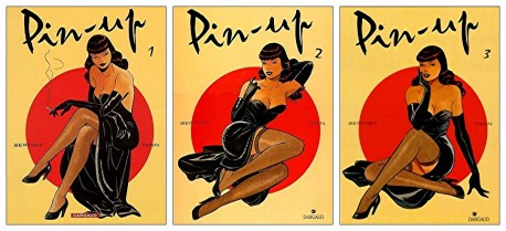 Philippe Berthet Bande dessinée Pin-Up