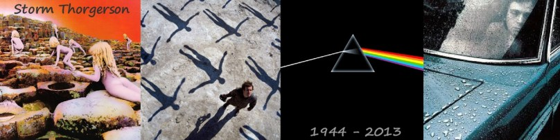 Albums covers from Storm Thorgerson!
