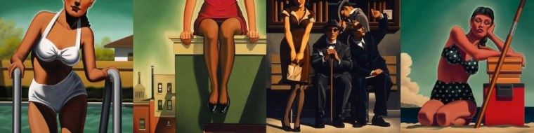 Kenton Nelson paintings