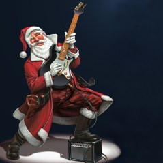 Santa is a Rocker!