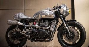 Triumph Thruxton Steampunk BCR