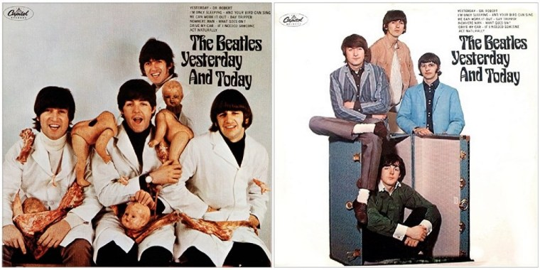 Beatles, Yesterday and Today Butcher Cover