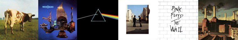 Jaquettes Back Catalogue Pink Floyd