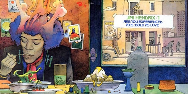 Hendrix Are you experienced Moebius
