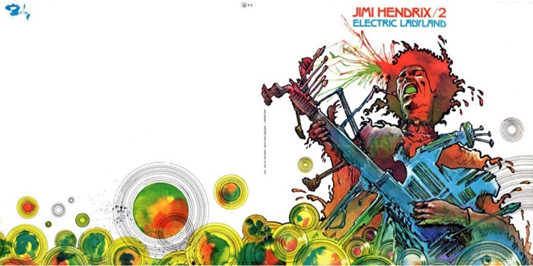 Hendrix Electric Ladyland Druillet
