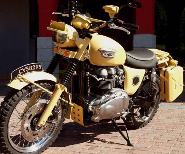 Triumph Scrambler Classic Farm Motorcycles