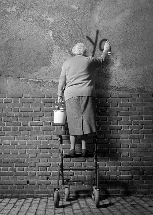 Graffiti Rebelle Attitude