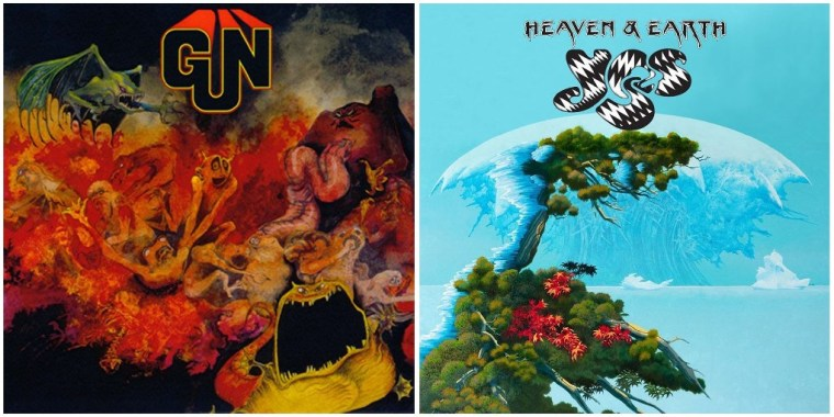 Roger Dean: The Gun & Yes cd's covers