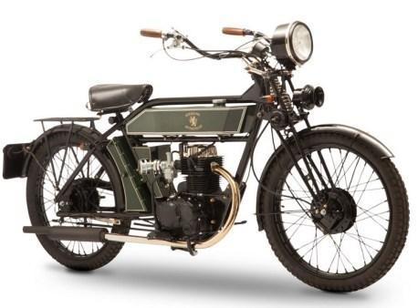 Sterling MK5 de Black Douglas Motorcycle Co