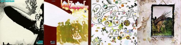 Led Zeppelin I-II-III-IV