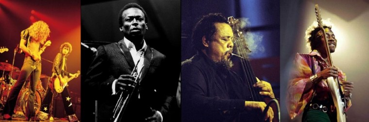 David Redfern: Led Zeppelin, Miles Davis, Charlie Mingus, Jimmy Hendrix
