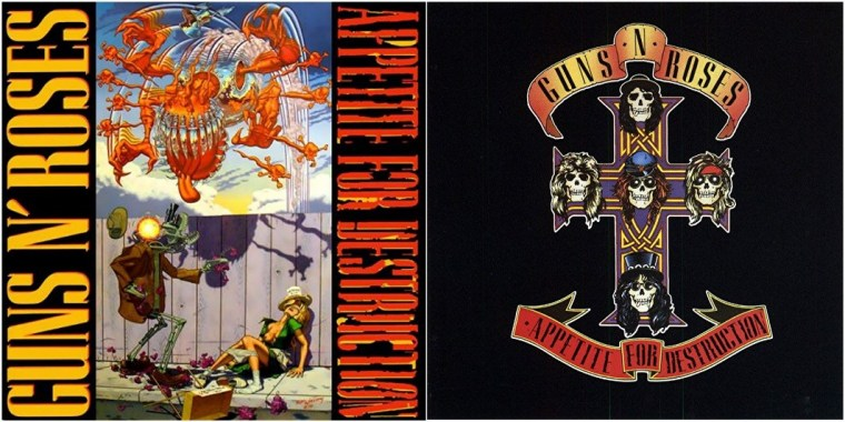 Guns'N'Roses censure Appetite for Destruction