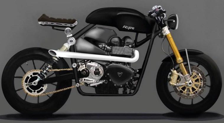 Triumph Bonneville Alcyone Design