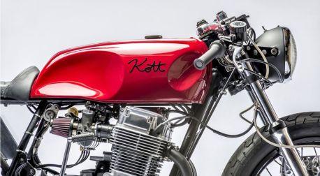 Red Pearl Kott Motorcycles