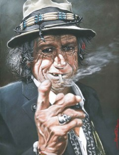 Keith Richard: Caricature de Philippe Moine