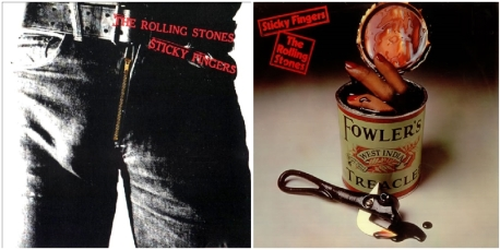 Rolling Stones, censure de Sticky Fingers