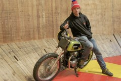 Guy Martin Wall of Death!