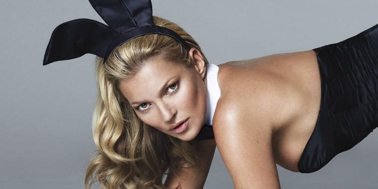 Kate Moss Playboy Bunny