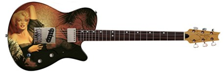 Pamelina H Just Marilyn Page guitar