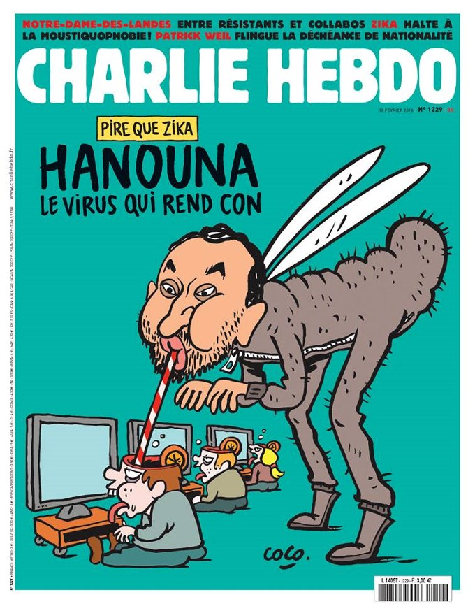 Charlie Hebdo, Cyril Hanouna