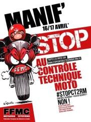 Contrôle Technique 2RM: Stop!