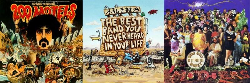 Cal Schenkel, Zappa covers