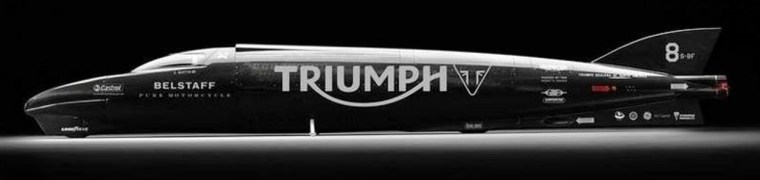 Triumph Rocket III Streamliner