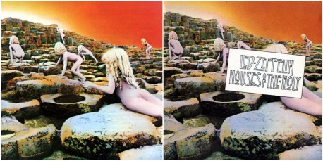 Led Zeppelin House of the holy censored