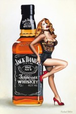 Rachael Foster Pin Up Jack Daniels