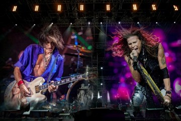 Aerosmith: Joe Perry et Steven Tyler