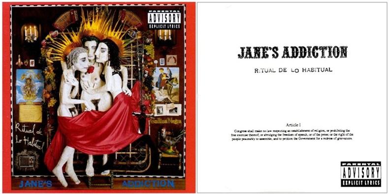 Censure Jane's Addiction
