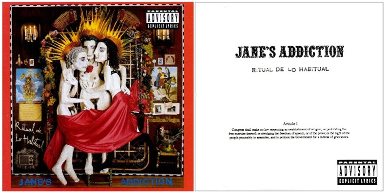 Censure Jane's Addiction