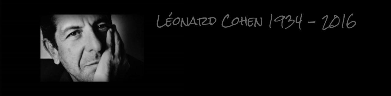 Décès de Léonard Cohen
