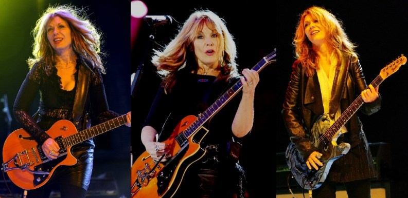 Nancy Wilson on stage