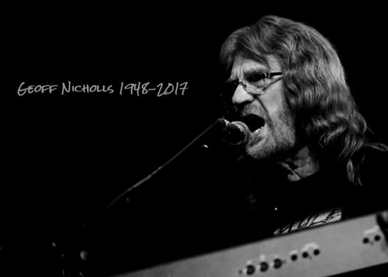Décès Geoff Nichols de Black Sabbath