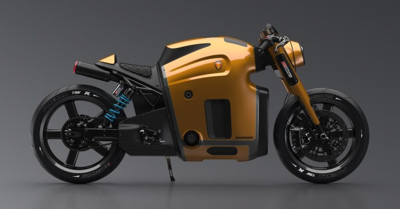 Koenigsegg motorcycle Maksim Burov