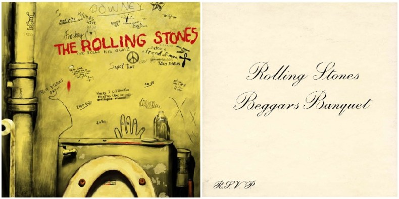 Rolling Stones Beggars Banquet censure