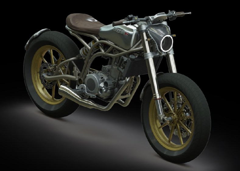 Clews Competition Motorcycles: 600 Spitfire