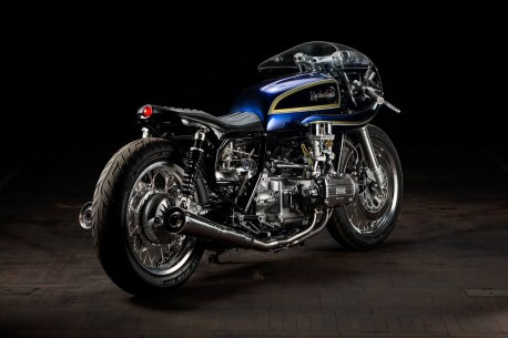 Cafe Racer Krakenhead Blueberry Bomber