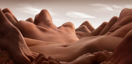 Carl Warner: Valley of the Reclining Woman